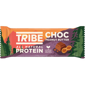 TRIBE Vegan Protein Bar Box 16x50g, peanut butter crunch